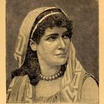 "Marie Prescott as ""Parthenia"""