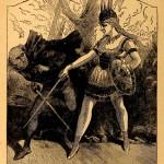Fencing Scene in Black Crook